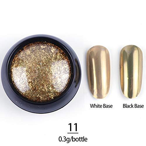 1 Box 0.3g Nail Glitter Shining Powder Magic Mirror sold out Over item handling Chrome
