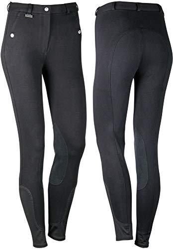 Harry´s Horse Reithose Beijing II Kniebesatz, Farbe:schwarz, Größe:D40