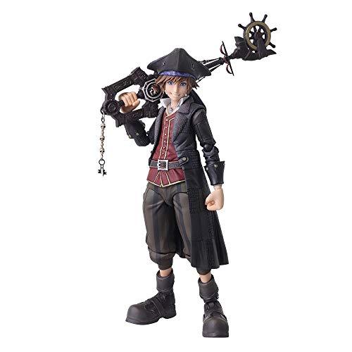 Square Enix Figura Sora Pirates of The Caribbean 15 cm. Kingdom Hearts III. Bring Arts