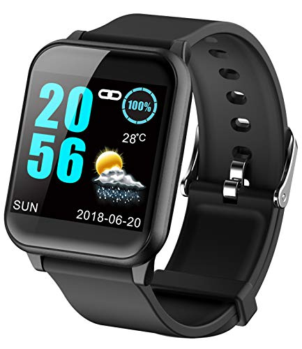 Fitness Tracker Heart Rate Monitor Blood Pressure Smart Watches for Android...