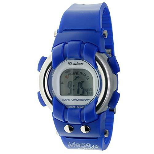 Christian Gar Cg-0871 Reloj Digital para Hombre Caja De Resina Esfera Color Gris