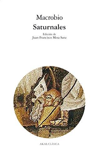 Saturnales (Clásica) (Spanish Edition)