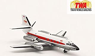 Inflight TWA Lockheed L-1329 JETSTAR N7961S 1/200 diecast Plane Model Aircraft