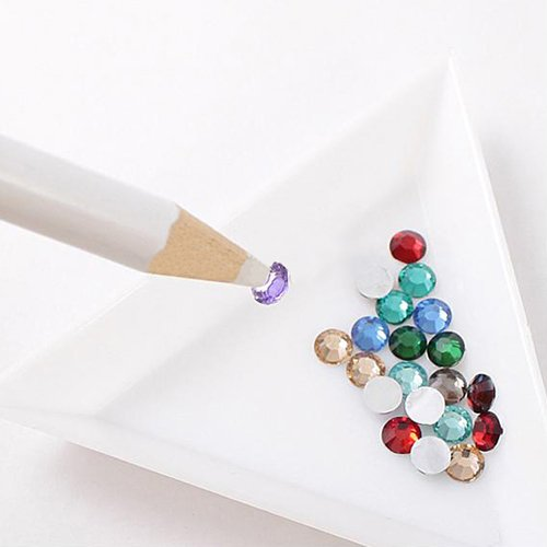 5pcs Rhinestones Picker Pencils Nail Art Gem Jewel Setter Pens Picking Tool by Broadfashion