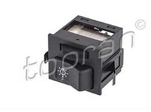 Topran Auto KFZ Schalter WIPPSCHALTER EIN/AUS Schalter Abblendlicht mit integriertem Regler! passend für Polo (86C,80) Schrägheck Stufenheck Coupe ; LT 28-35 I Bus (281-363)