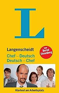 Langenscheidt Chef-Deutsch/Deutsch-Chef: Klartext am Arbeits