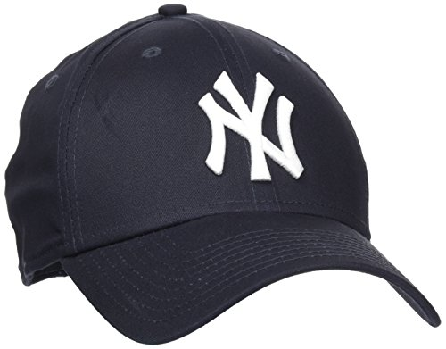 New Era Herren Baseball Cap Mütze M/LB Basic NY Yankees 39Thirty Stretch Back, Navy/ White, M/L, 10145636