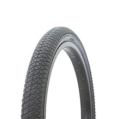 Fenix Cycles Wanda BMX Tread Bicycle Tire 20 x 1.95, for Bikes, (Black)