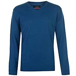 Men's V Neck Jumper > Long sleeves > Ribbed cuffs > Ribbed hem > Pull on design > Pierre Cardin embroidered branding > Machine washable > Keep away from fire