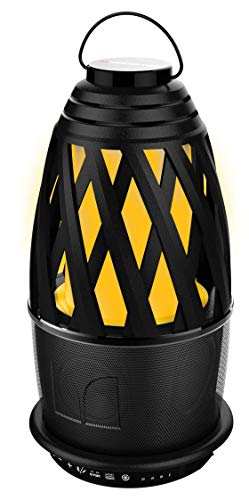 Monster Flame 2 Portable Indoor/Outdoor Wireless Bluetooth Speaker,30 Watts,10 Hours of Playtime, IPX5, Sync up to 8 EZ-Play Speakers