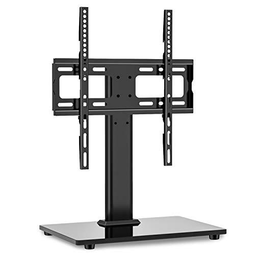 RFIVER Supporto TV da Tavolo Universale per TV da 32-55 Pollici LCD/LED/Plasma Piedistallo Basamento TV Girevole e Regolabile in Altezza UT1002