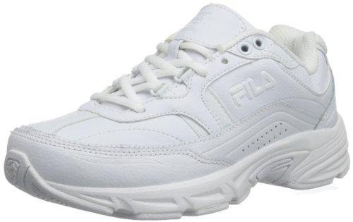 Fila Women's Memory Workshift Cross-Training Shoe,White/White/White,6 M US