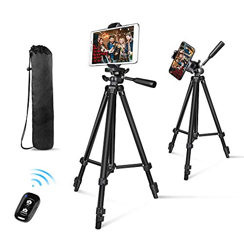 "Phone Tripod, Aureday 50"" Extendable..."