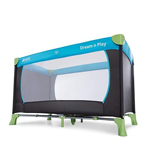 Hauck Kinderreisebett Dream N Play / inklusive Einlageboden und Tasche / 120 x 60cm / ab Geburt / tragbar und faltbar, Wasser (Blau) - 10