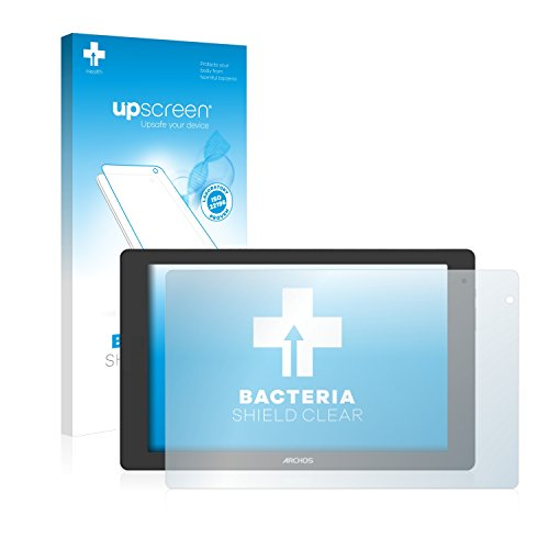 upscreen Antibakterielle Schutzfolie kompatibel mit Archos Oxygen 101b klare Bildschirmschutz-Folie