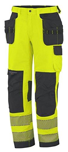 Helly Hansen Workwear waarschuwingsbescherming montagebroek York Construction Pant werkbroek, 52 EU, geel