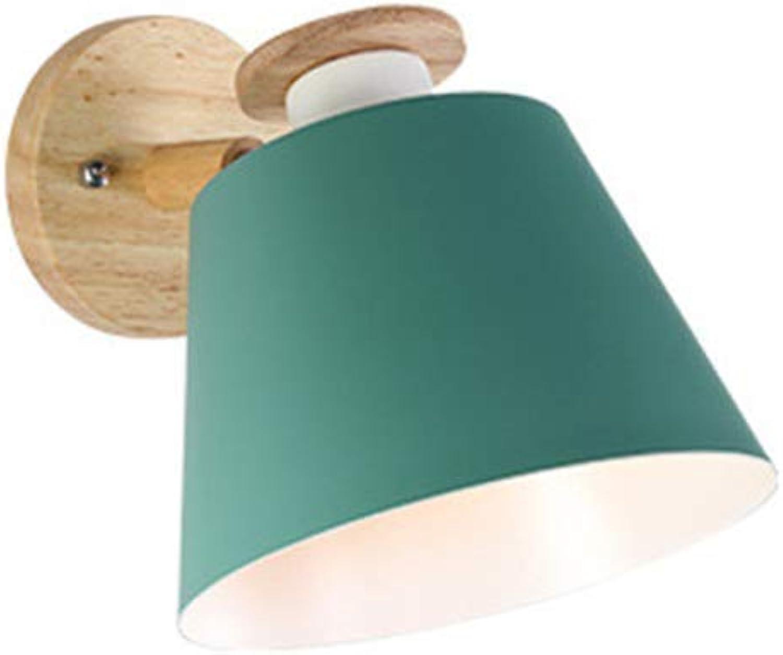Newled Wandleuchte Vorzügliche Hauptdekoration - Nordische Moderne Minimalistische Kreative Farbschlafzimmernachttischlampe Wohnzimmer-Studienbalkon Führte, Grün Ohne Lichtquelle Wandleuchte