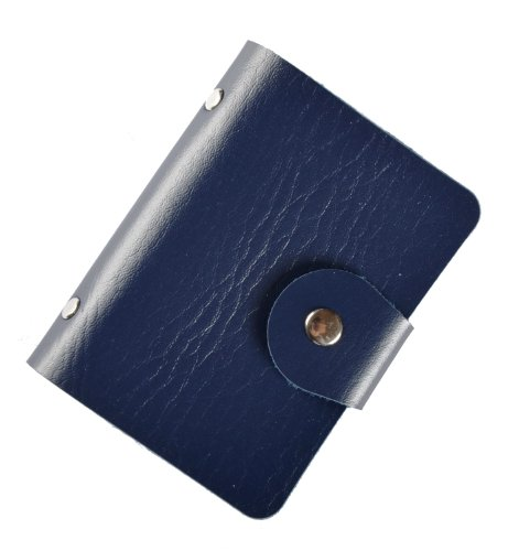 Brilliance Co Porta Carte Di Credito/visite (Blu Scuro, 24 Carte)