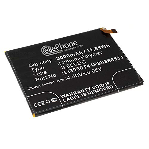 cellePhone batería Li-Polymer para ZTE Blade V7 MAX (reemplazado Li3930T44P8h866534)