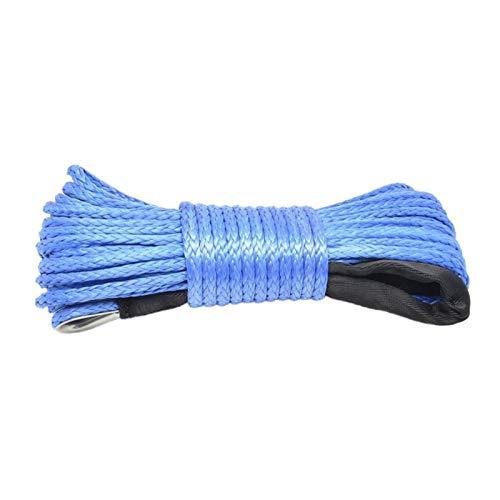Fácil de instalar 7700lbs eléctrico torno de cable cuerda de nylon de...