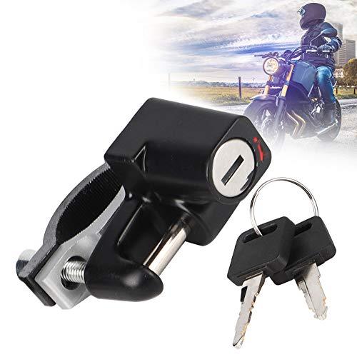 FAMKIT Casco Moto Serratura 2.3 'Manubrio Sicurezza Casco Serratura Accessori Moto per Nissan Almera/Qashqai/Pr