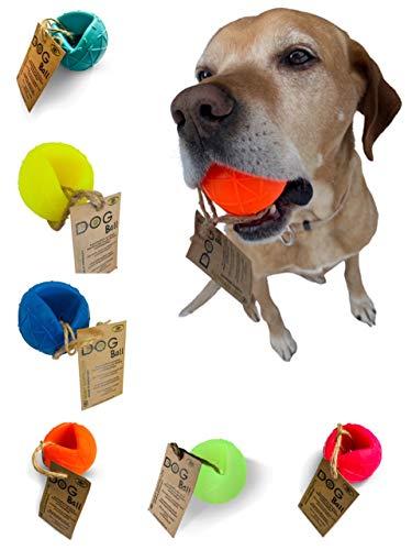 Moby Dog Ball frei von giftigen Weichmachern und giftigen Inhaltsstoffen Hundeball (Leuchtpink)