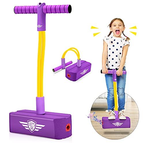 Toyzey Toys for 3 4 5 6 7 8 9 10 11 12 Year Old Girls, Pogo Sticks for...