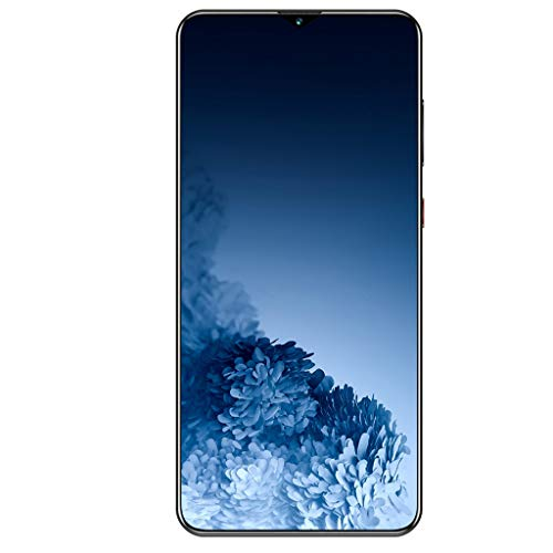 PNAYK S30 4G Android 10.0 Sin Tarjeta SIM Smartphone Desbloqueado, Pantalla FHD + 6,7 Pulgadas con Batería 4800 mAh, Doble SIM Triple Cámara Teléfono Móvil,Azul,4GB+64GB