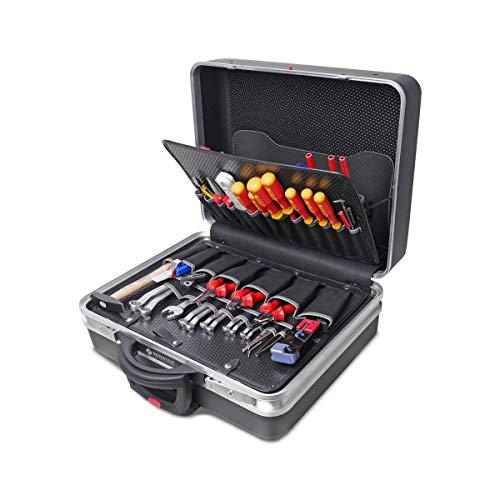 Bernstein rollbarer Service-Koffer 6600R TELECOM mit 115 Werkzeugen