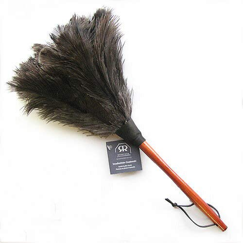 レデッカー Redecker オーストリッチ羽はたき (ブラック, 50cm)