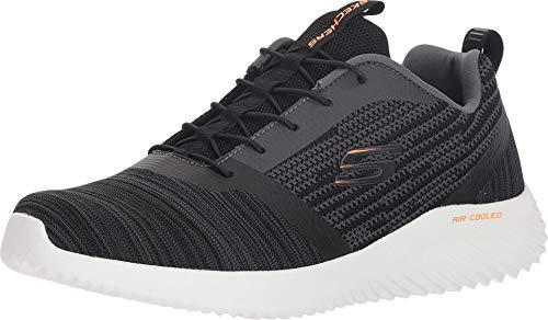 Skechers Bounder, Zapatillas Hombre, Negro Black Blk, 42 EU