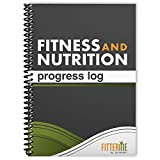 Food and Exercise Journal - Fitness and Nutrition Planner for Health and Weight Loss - Gym Workout Log Book and Diet...