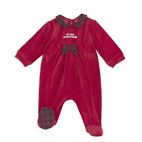 Chicco - Pijama de chenilla rojo 3 Meses