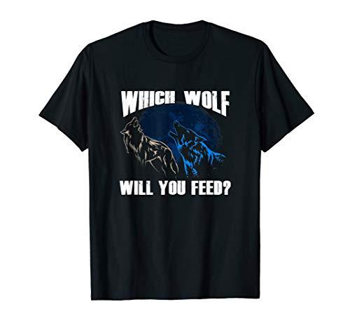 Wolf Shirt Wolves Legend, Wolf Lovers T-shirt Nature Tee