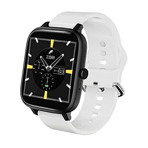 Smartwatch Uomo e Donna, Draccialetto Sportivo Intelligente, Orologio Fitness con Contapassi e Cronometro, Orologio Intelligente con Funzione di Chiamata e Musica, per Android iOS Xiaomi Huawei
