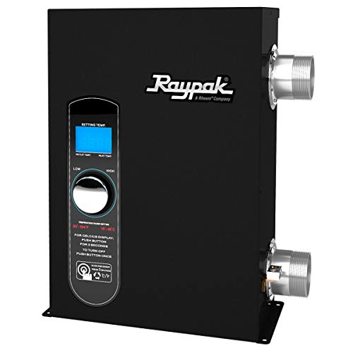 Fantastic Deal! Raypak 017121 ELSR00051T1 5.5 kW 240V 18,767 BTU Electric Spa Heater