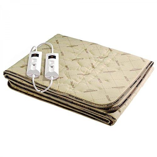 Imetec 6012D Scaldasonno Premium, Tessuto Trapuntato, Scaldaletto Matrimoniale