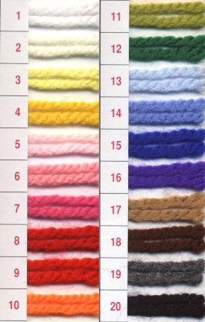 【元廣】 アルペン アクリル極太 同色5玉1袋  色番:8 毛糸、秋冬手編み糸