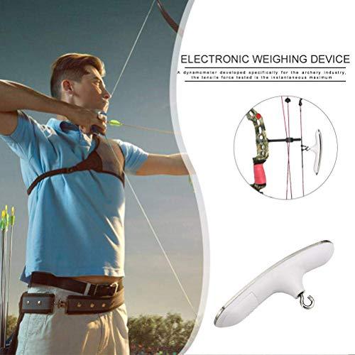 Yissma Elektronische Wiegeeinrichtung Digital Bow Archery Scale Instrument Test Tool für Compoundbogen Recurve Bow