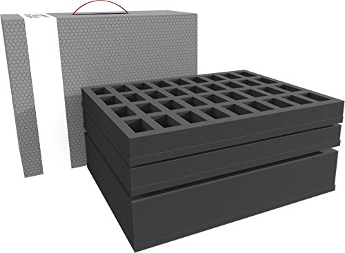 Feldherr Storage Box Compatible with 72 Miniatures Plus Tanks or Monster