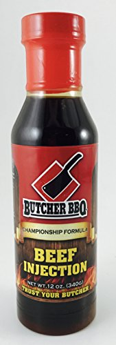 Butcher BBQ Liquid Brisket Injection - 340g (12 oz) - with FREE Injector