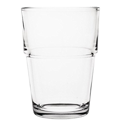 Olympia Gm580 empilage trempé, verre, 200 ml, 7 G