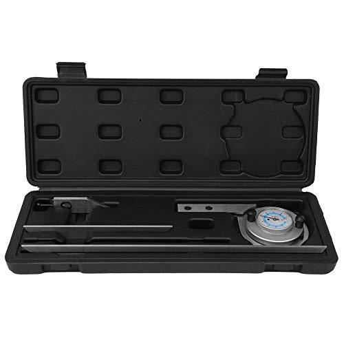 Winkelmesser, Universal-Winkelmesser 0~360 ° Winkelmessgerät Mechanischer Prozesswinkelmesser
