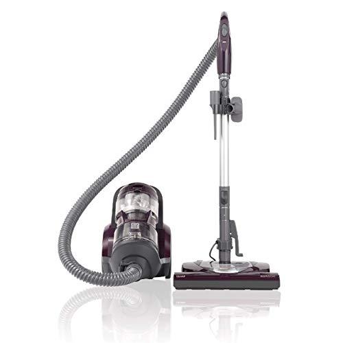 Kenmore 22614 - Aspiradora compacta sin bolsa para mascotas con Powermate, HEPA, varita telescópica extendida, cable retráctil y 2 herramientas de limpieza, color morado