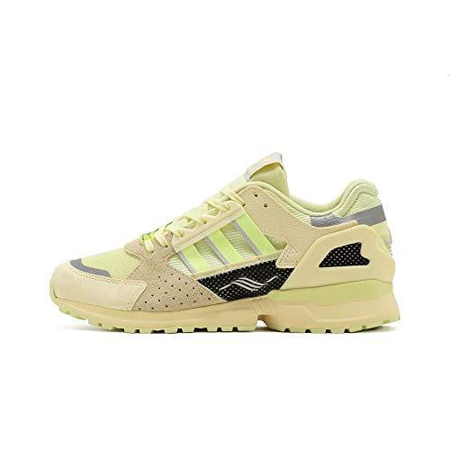 adidas Originals ZX 10,000 C, Yellow Tint-hi-Res Yellow-Easy Yellow, 7 ⭐
