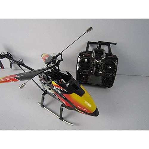 Helicóptero de controle remoto com controle remoto para uso interno com giroscópio de 4 canais, mini helicóptero, controle remoto para crianças e adultos