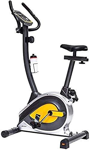 Fitnessfiets - Draagbaar Verstelbaar Ultrastille Verticale Magnetische Controle Opvouwbare Hometrainer Fiets Indoor Pedaal Aerobics Fitnessapparatuur voor thuiskantoor(Upgrade)