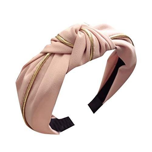 SEWORLD Diadema para la mujer Diadema para el cabello Nudo en forma de