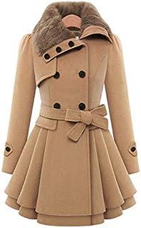 Winter Coat Women Wool Blends Coats Female Jacket Winter Woman Coat Warm Windbreaker Casual Thick Coats mm