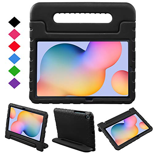 NEWSTYLE Custodia per Samsung Galaxy Tab S6 Lite 10.4 2020, Convertibile Leggera per Bambini, Supporto Custodia Cover per Galaxy Tab S6 Lite 2020 SM-P610/P615 (Nero)
